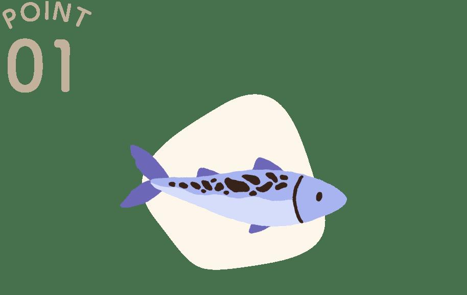 フレッシュ生魚のDHA・EPA