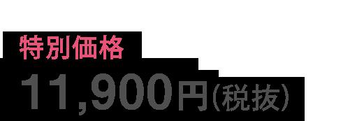 11900円